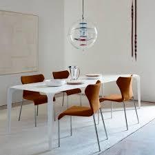 chaise table b b chaise contemporaine tapissée en tissu en cuir papilio b b