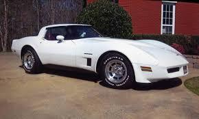 1978 white corvette car picker white chevrolet corvette