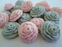 sugar flowers fondant roses wedding cake decorations edible
