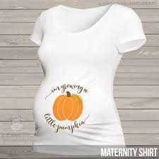 maternity shirt personalized maternity shirt fall growing pumpkin to be t shirt