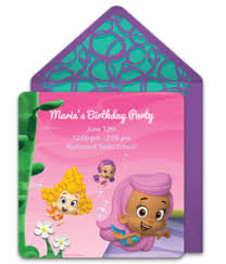 free bubble guppies invitations punchbowl