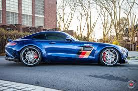 widebody brz prior design wide body mercedes amg gt s gets vossen wheels