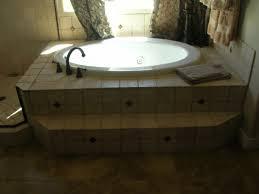 Bathtub Jacuzzi Drop In Jacuzzi Tub Tile Surround By Mingus Tile In Prescott Az
