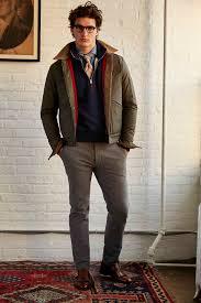 urban hipster in michael bastian fall winter menswear 2018