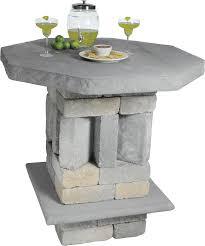 Patio Pub Table Patio And Pub Table Kit Concrete Patio Pavers Boston Ma