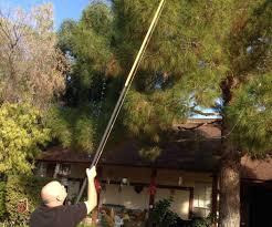 Poles For String Lights by Christmas Lights Installer Pole 3 Steps