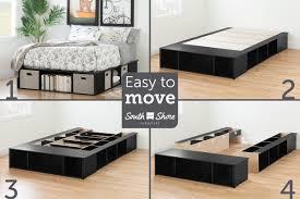 Platform Bed Frames South Shore Platform Bed U0026 Reviews Wayfair