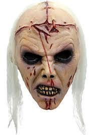 skin mask halloween lobotomy zombie mask halloween mask escapade uk