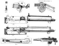 maxim gun blueprint download free blueprint for 3d modeling