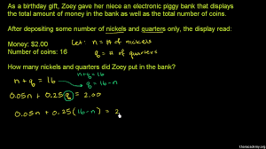 systems of equations word problems practice khan academy