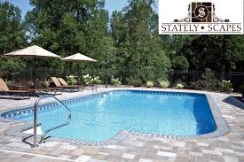 Pool Patio Pavers by Stately Scapes Matrix Pools
