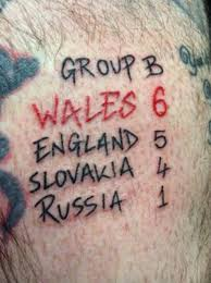 tattooed euro 2016 fans show their love of football is more than