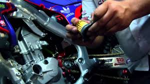 how to change oil on a honda crf 250r youtube