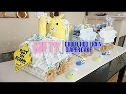 Diaper Cake Directions Choo Choo Train Diaper Cake Youtube