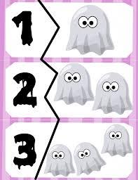 halloween puzzles halloween number puzzles prekautism com