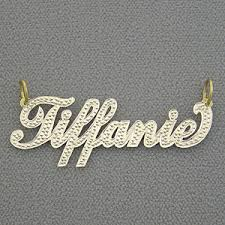 name charm necklace personalized gold name plate pendant necklace jewelry