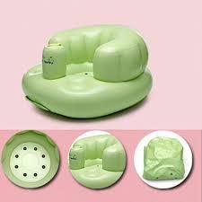 siege bebe gonflable bébé chaise gonflable pour alimentation bébé portable chaise de