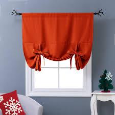 Contemporary Orange Curtains Designs Bathroom Ideas For Choosing Bathroom Window Curtains With Photos