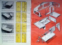 How To Build A Tent How To Build A Tent Trailer Mobile Camping Platform Original 1969