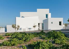 white santorini house is ready for summer curbed