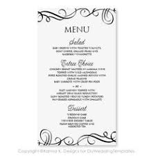 5 course menu template dinner menu templates templates franklinfire co