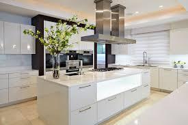 Kitchen Island Cooktop Flooring Chic Kitchen Décor With Modern Kitchen Islands And