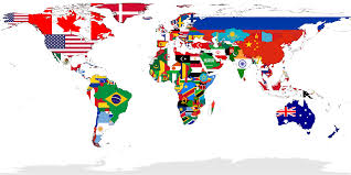 Flags Of Countries The Six Most Powerful Countries In The World The Tattler
