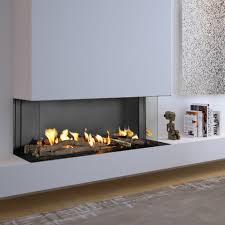 flare dc 100 double corner fireplace