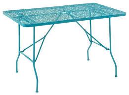 metal folding table outdoor metal outdoor table metal folding outdoor table turquoise modern
