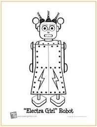 robot robots color disney coloring pages color plate