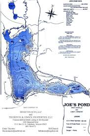 Vt Map Joes Pond Map
