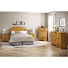 Country Pine Furniture South Shore Logik 6 Drawer Sunny Pine Dresser 3342027 The Home Depot