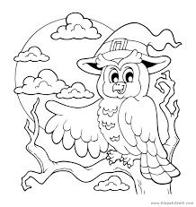 imagenes de halloween para imprimir y colorear dibujos de buho para imprimir y colorear en halloween etapa infantil