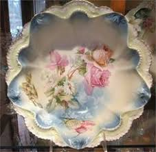 rs prussia bowl roses rs prussia bowl master berry 10 antique porcelain nouveau