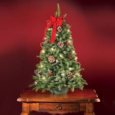 modest design pre lit tabletop christmas tree uk home decorating