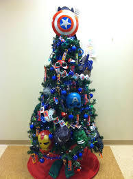 Diy Christmas Tree Topper Ideas Superhero Tree Idea Superhero Christmas Tree Pinterest