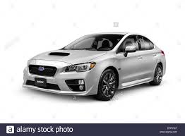 subaru cars 2015 2015 subaru wrx performance car isolated on white background with