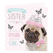 pug birthday card gangcraft net