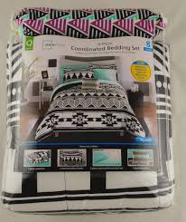 Tribal Print Bedding Mainstays Tribal Black And White Bed In A Bag Bedding Set
