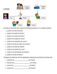 the 25 best spanish worksheets family ideas on pinterest have