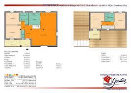 plan de maison a etage 5 chambres maison etage 75m2
