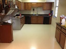 Painted Kitchen Floors by Kitchen Wooden Cabinet And Simple Backsplash Closed Calm
