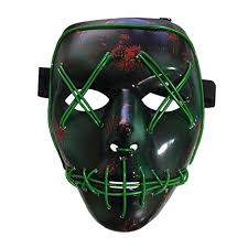 Halloween Central Costumes Smartcoco Frightening Halloween Cosplay Led Light Mask