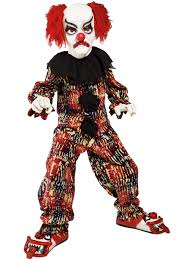party city halloween clown costumes evil warlock costume kids costume scary halloween costume at
