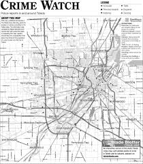 Northwood Ohio Map by Suburban Crime Log 3 25 The Blade