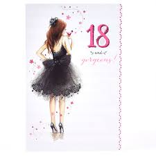 personalised 18th birthday cards card factory