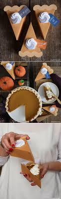 pie slice boxes papercraft thanksgiving and craft