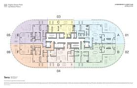 Midtown Residences Floor Plan by Eighty Seven Park By Renzo Piano