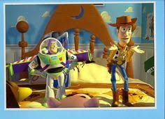 book toy story 1 3d cover rare print disney