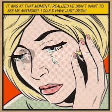 Crying Woman Meme - i could have just died comic art prints and posters by joseph